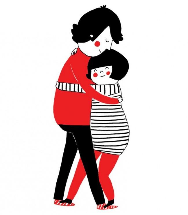 Иллюстрации об отношениях, в которых каждая парочка узнает себя