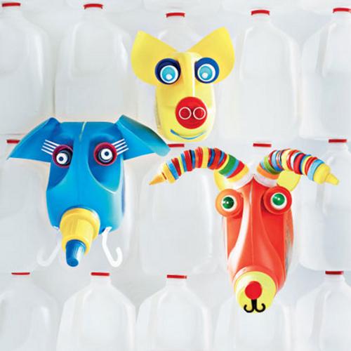 Поделки из пластиковой канистры своими руками