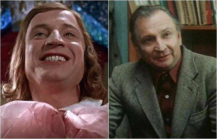 Один из самых снимаемых актёров советского кино в фильме сыграл эпизодические роли-веселого тамбурмажора и второго извозчика.
