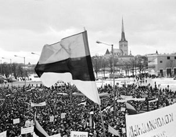 Первый гвоздь в гроб СССР удалось забить Эстонии