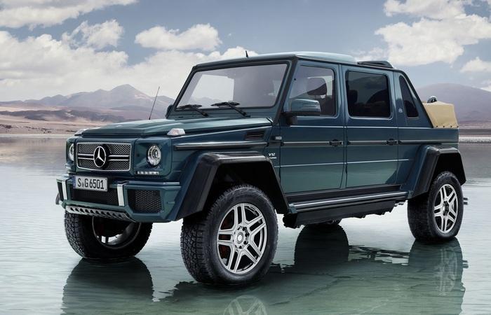 Люксовый лимузин-внедорожник Mercedes-Maybach для поклонников настоящего эксклюзива