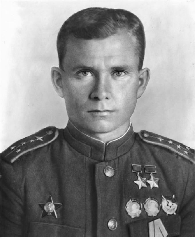 Дважды герой советского союза Василий Ефремов