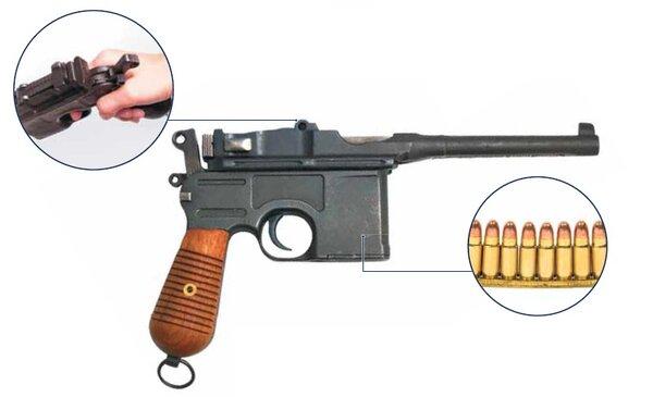 """Легенда оружейного мира """"Маузер С-96"""""""