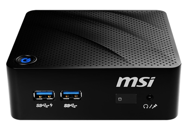 Неттоп MSI Cubi N 8 GL использует платформу Intel Gemini Lake