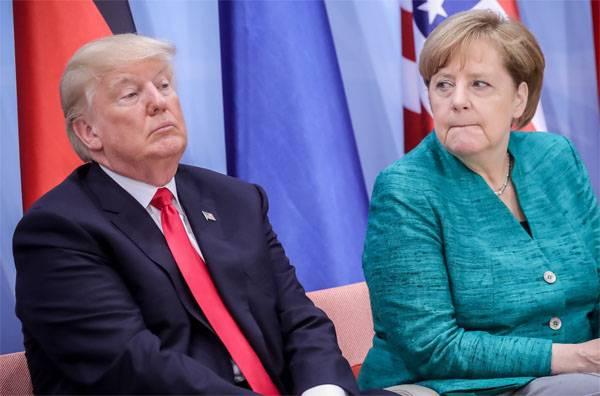 СМИ: Меркель попросит у Трампа освобождения от поддержки антироссийских санкций