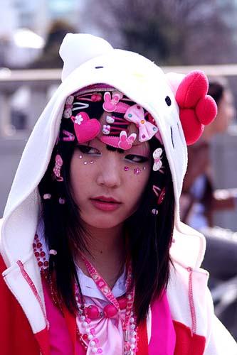 Модная японочка