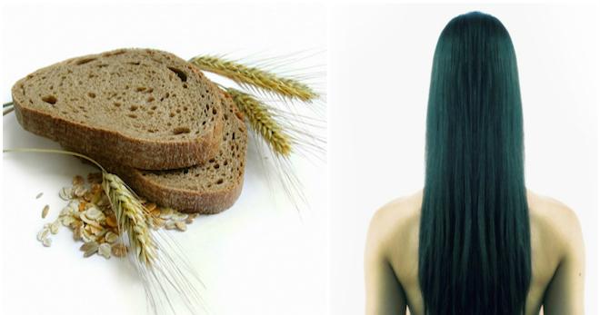 Маска для волос из черного хлеба – супер рецепт