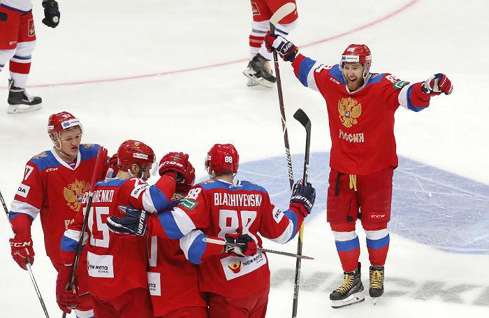 Новая «Красная машина». Российские хоккеисты разгромили Чехию в Евротуре