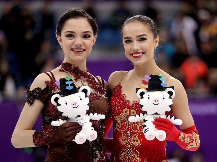 Спасибо вам, девочки, за подарок на 23 февраля, за первое золото Олимпиады!