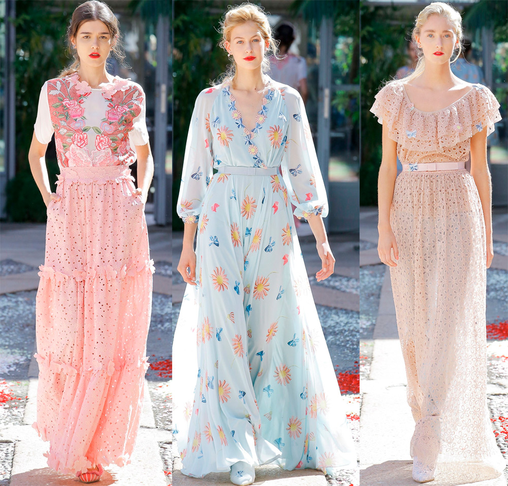 Платья и другая модная одежда 2018 от Luisa Beccaria