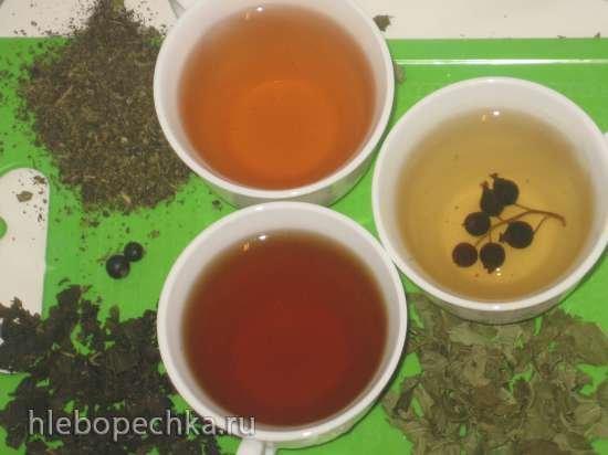 Безалкогольные напитки. Домашний чай - ферментирование и сушка