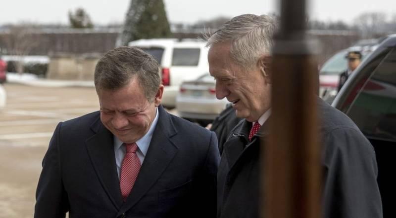 Иордания и США обсудили военное сотрудничество