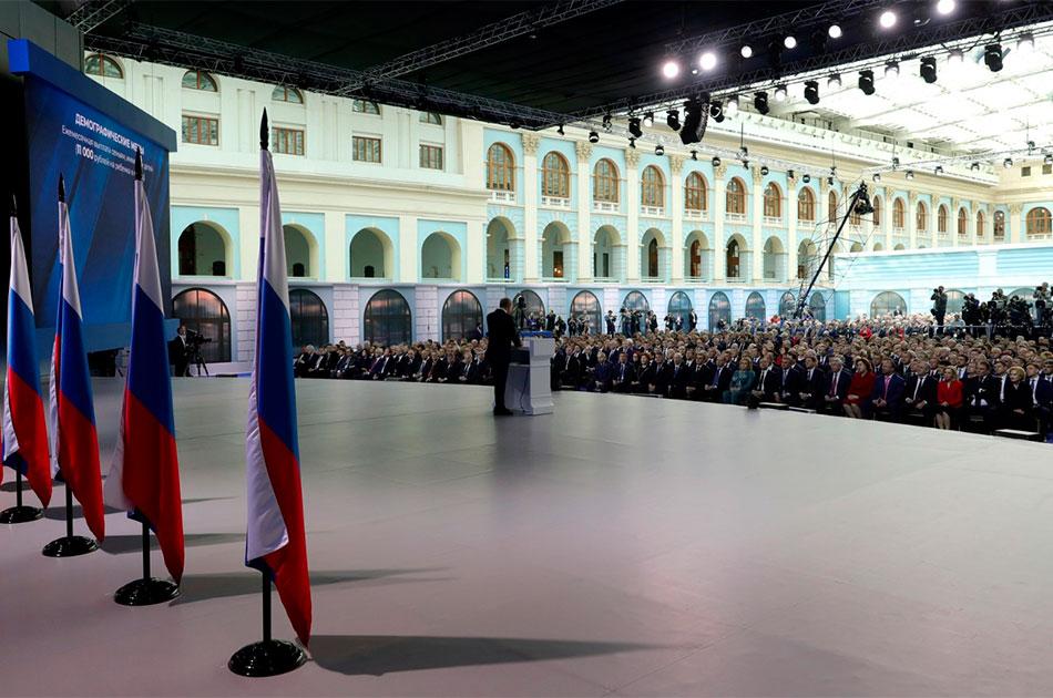 Послание Путина американцам