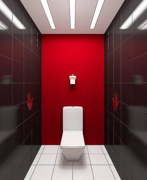 Облицовка туалета: дизайн и …