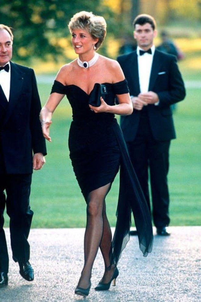 Sлатье мести причинапочему принцесса Диана выбрала такой откровенный наряд