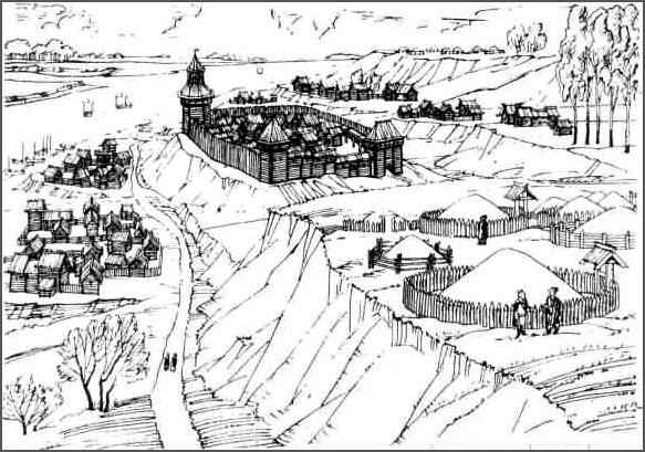 Древнерусский город
