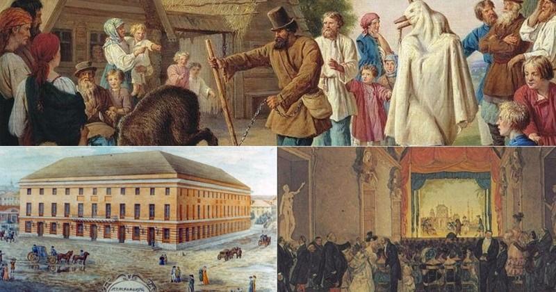Крепостной театр и его актеры-рабы