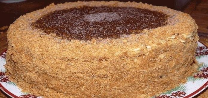 Самый вкусный торт Рыжик