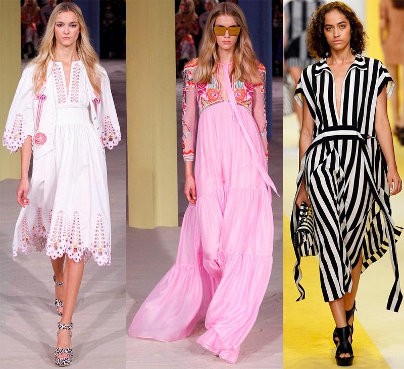 стильные фасоны платье