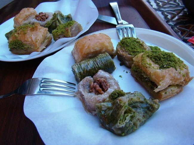 Пахлава базар, пахлава, рахат-лукум, сладости, турция