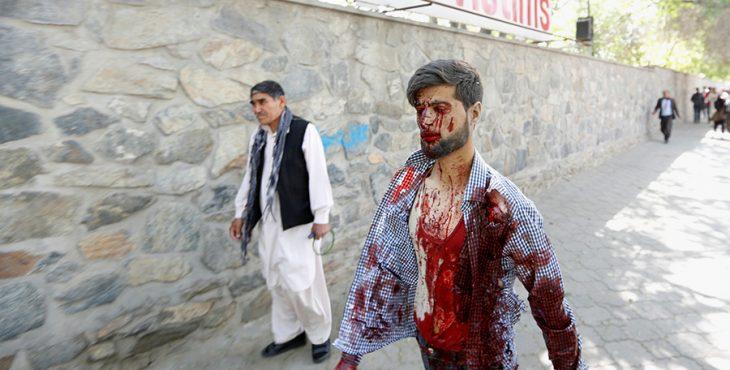 Масштабный теракт в Кабуле: 65 человек погибли, 325 ранены. Видео хроника событий, фото, последние новости.