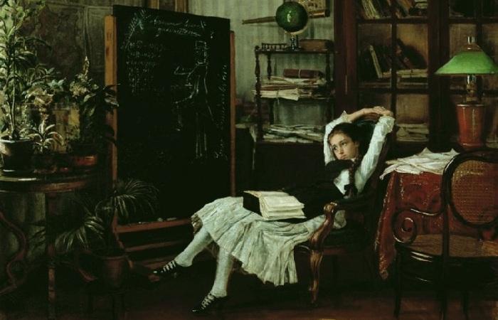 «Портрет художника К.А.Савицкого»(1871 год). Автор: Иван Крамской.