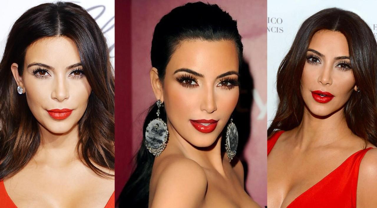 Уроки красоты от Ким Кардашьян. Фото + Видео