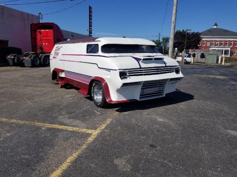 Чудо-Юдо-GMC: незавершенный проект фургона на продажу