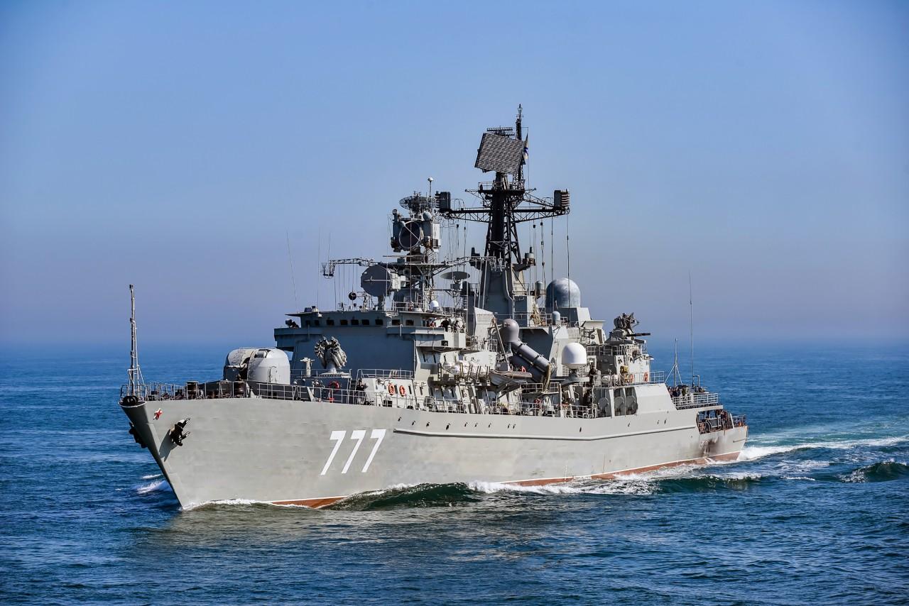"""Сторожевой корабль """"Ярослав …"""