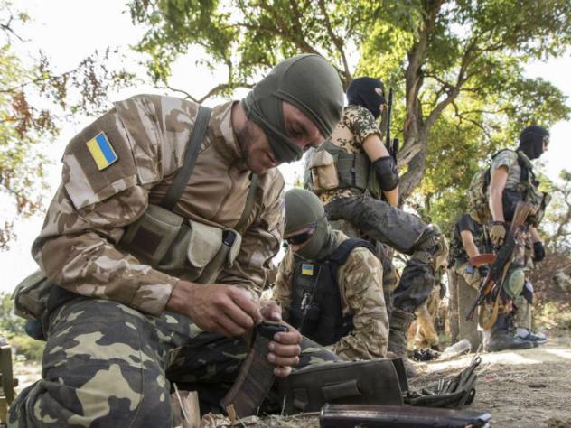 ЛНР: Украинские военные продают позиции в зоне АТО