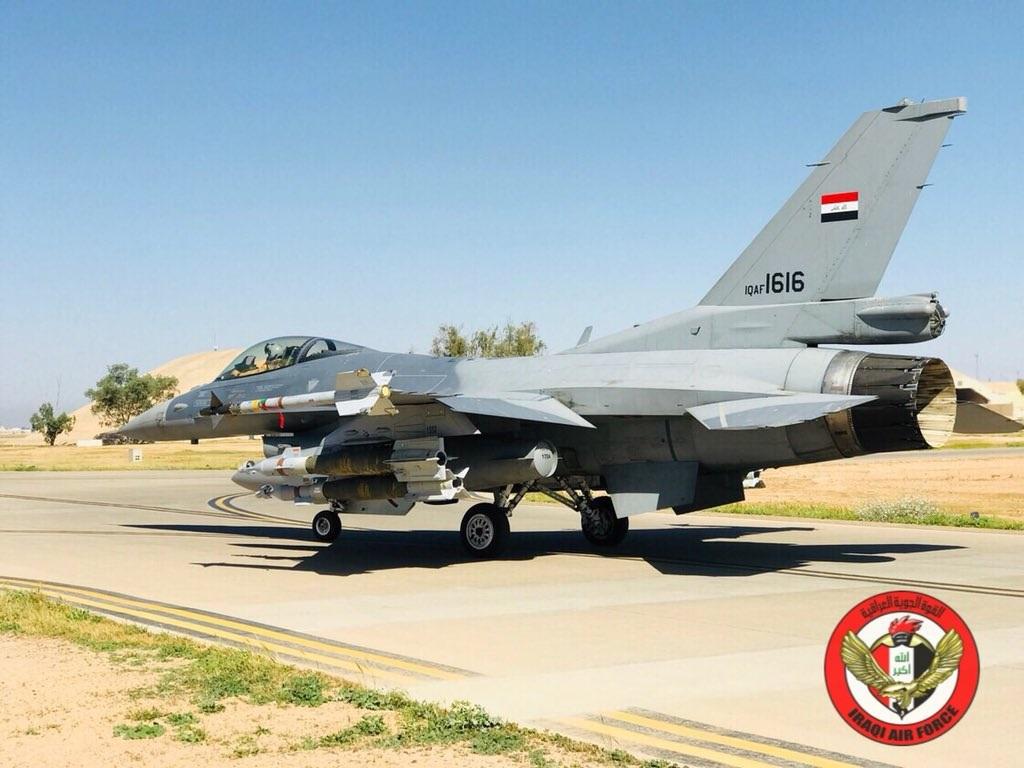ВВС Ирака нанесли удары по исламистам на территории Сирии