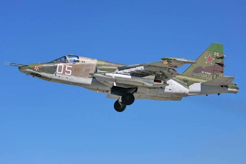 Российские Су-25 переброшены из Киргизии на Урал для участия в учении