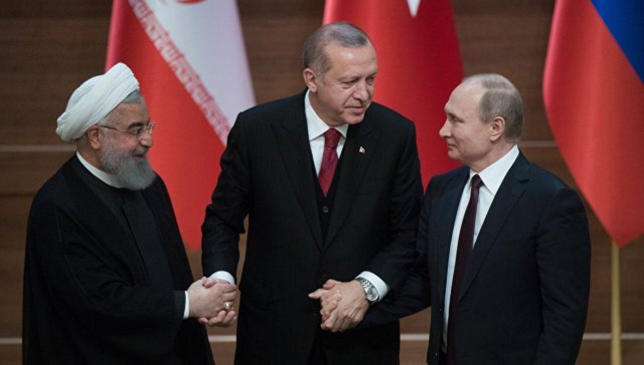 Запад: Путин, Эрдоган и Роухани планируют будущее. Трамп планирует побег