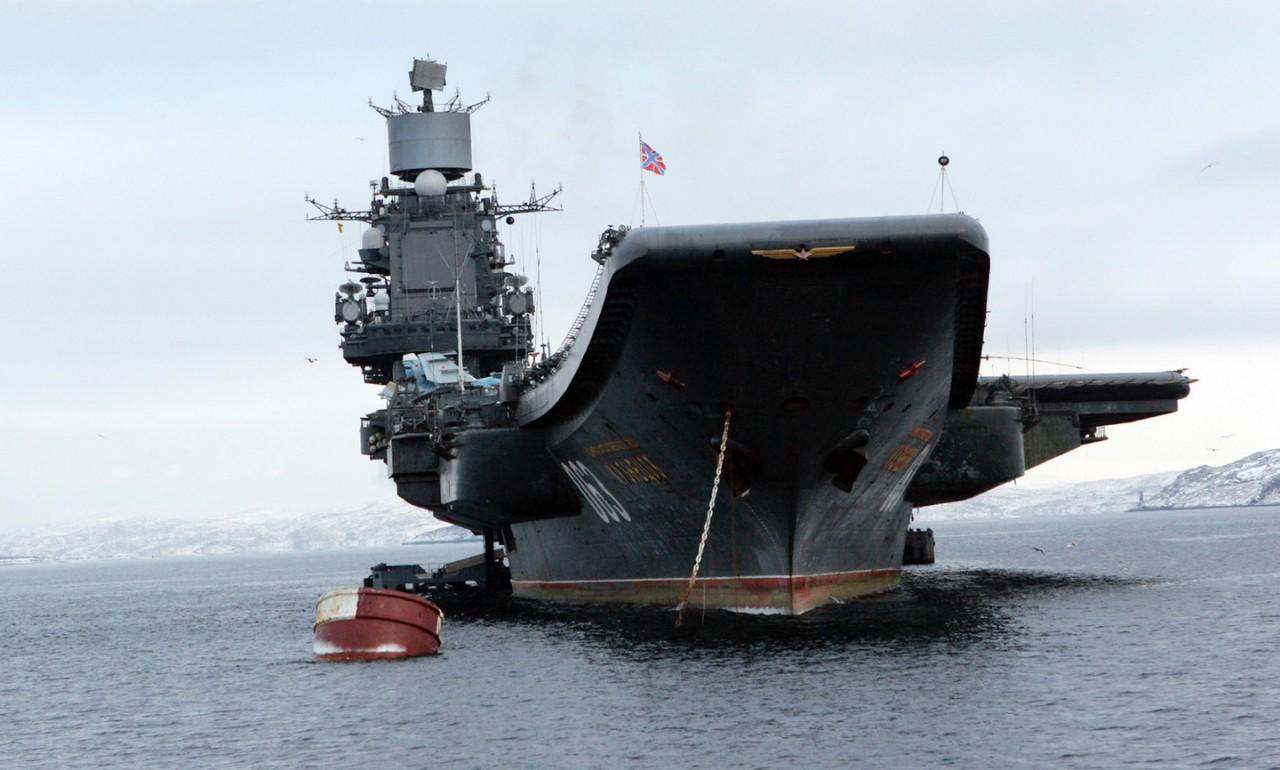 """Очкуйте бритты: ВМС Британии приведёны в состояние боевой готовности из-за """"Адмирала Кузнецова"""""""