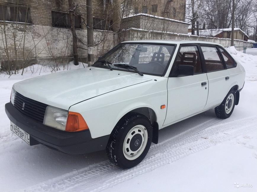 Идеальный Москвич-21412 за безумные 300 тысяч рублей