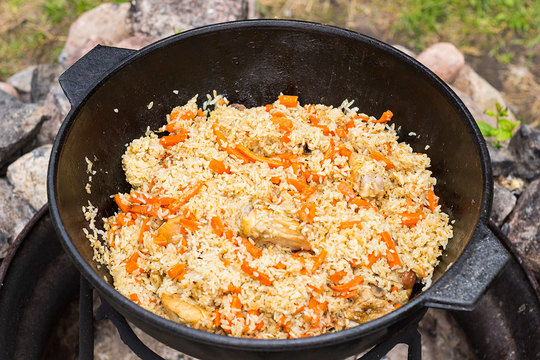 Полевая кухня: готовим обед на природе