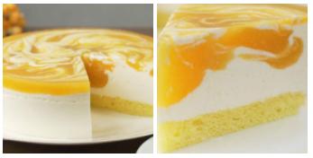 Торт «Солнечная Вьюга»