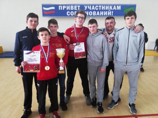 Севастопольские спортсмены з…