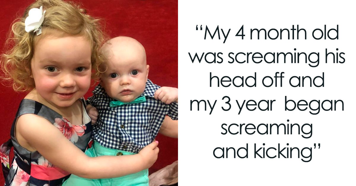 The Way This Stranger Reacted When A Woman's Kids Started Screaming On A Flight Teaches A Valuable Lesson