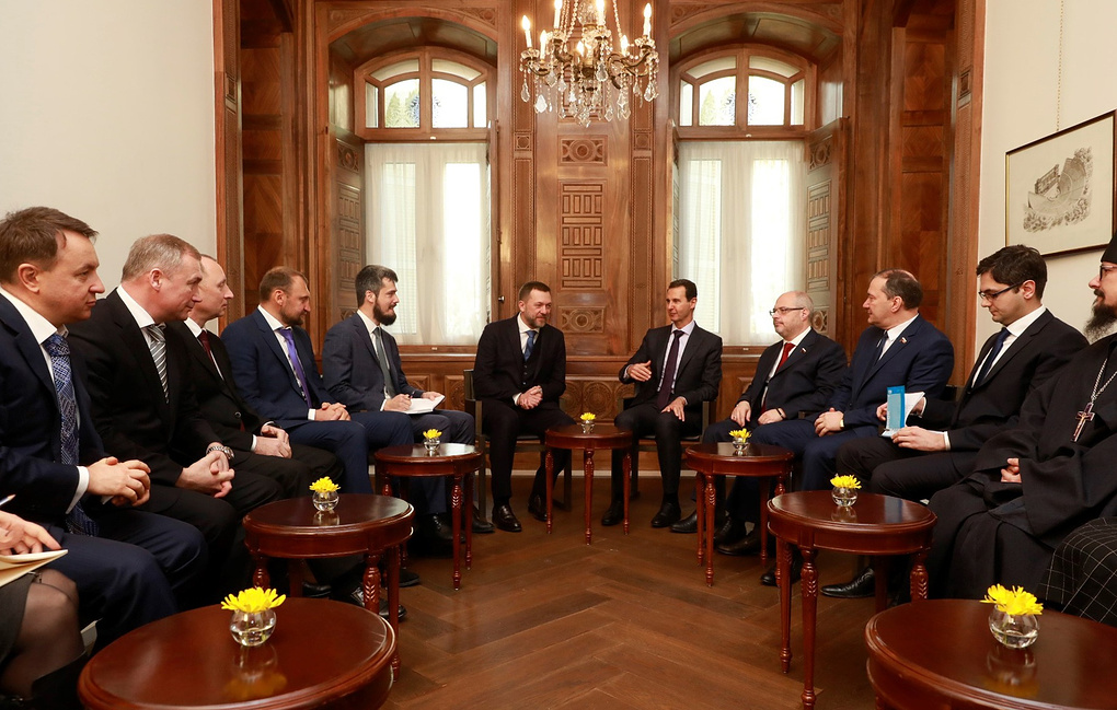 Асад хочет посетить Крым и Севастополь