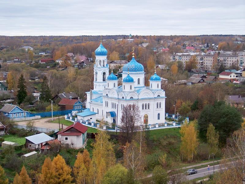 Церковь Михаила Архангела Города России, Тверская область, красивые места, пейзажи, путешествия, россия, торжок