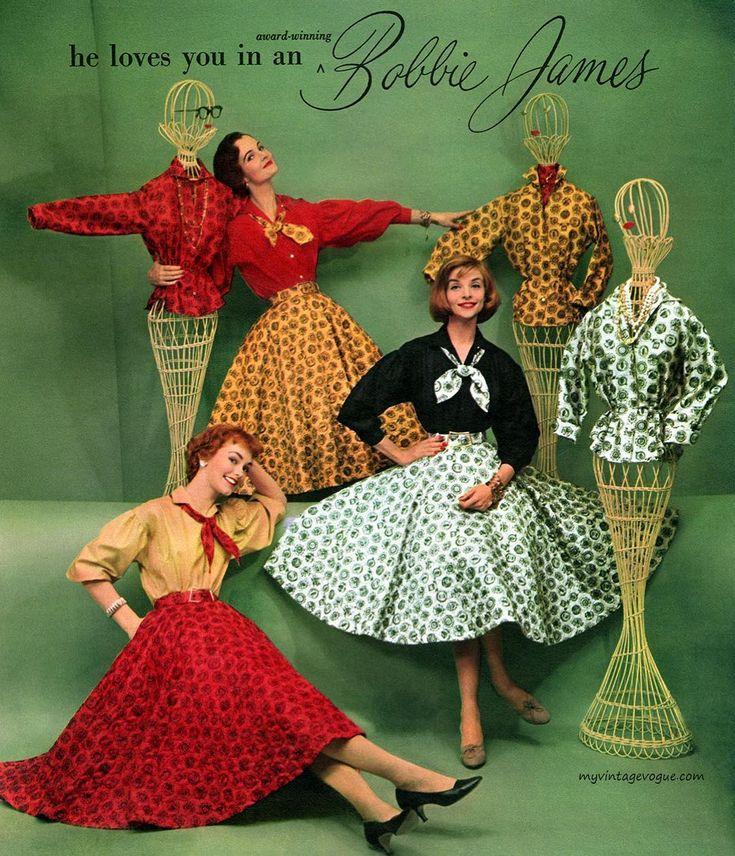 Моя прекрасная леди: какие блузки носили в 50-х?