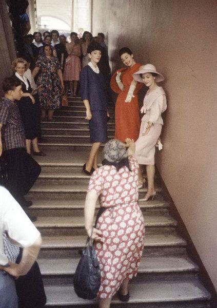 Первый показ Dior в Москве, 1959 год