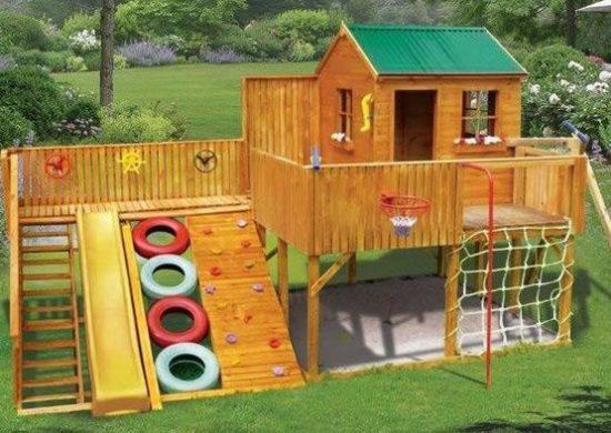 Как своими руками построить детскую площадку