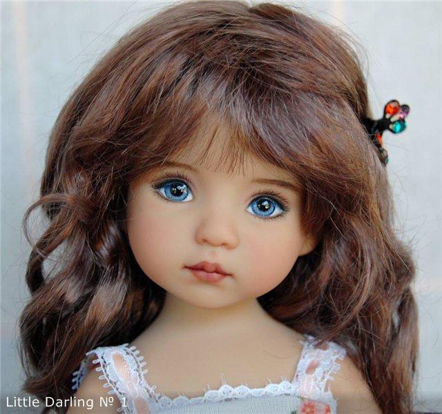 Авторские куклы студии Dianna Effner