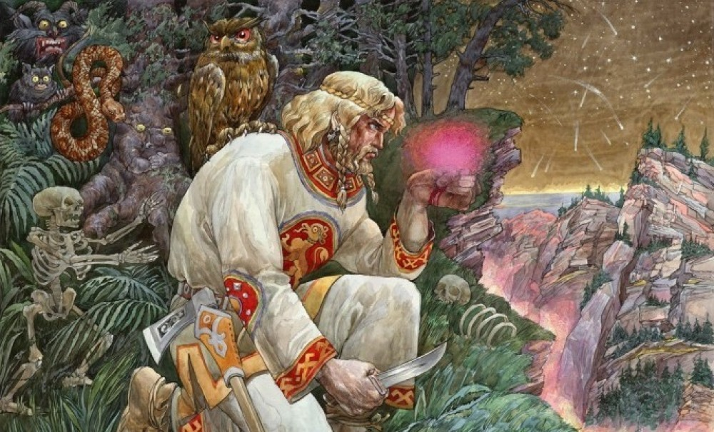 рабочей сгероями славянской мифологии нового года причисления молодым
