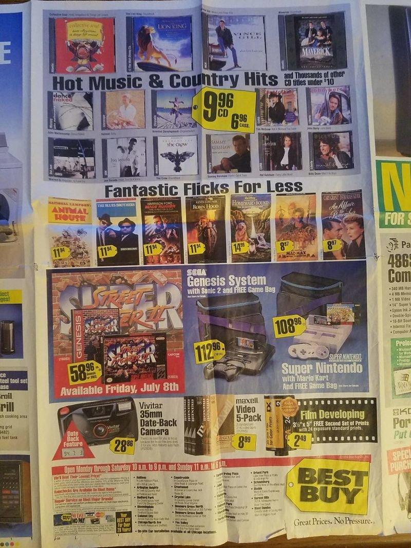 Музыкальные диски, видеокассеты, картриджи видеоигр вещи, гаджеты, ностальгия, реклама, техника