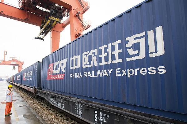 Через КПП на границе РФ и КНР проехал 3000-й поезд «Китай – Европа»
