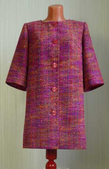 какие ткани нужно на весеннее пальто
