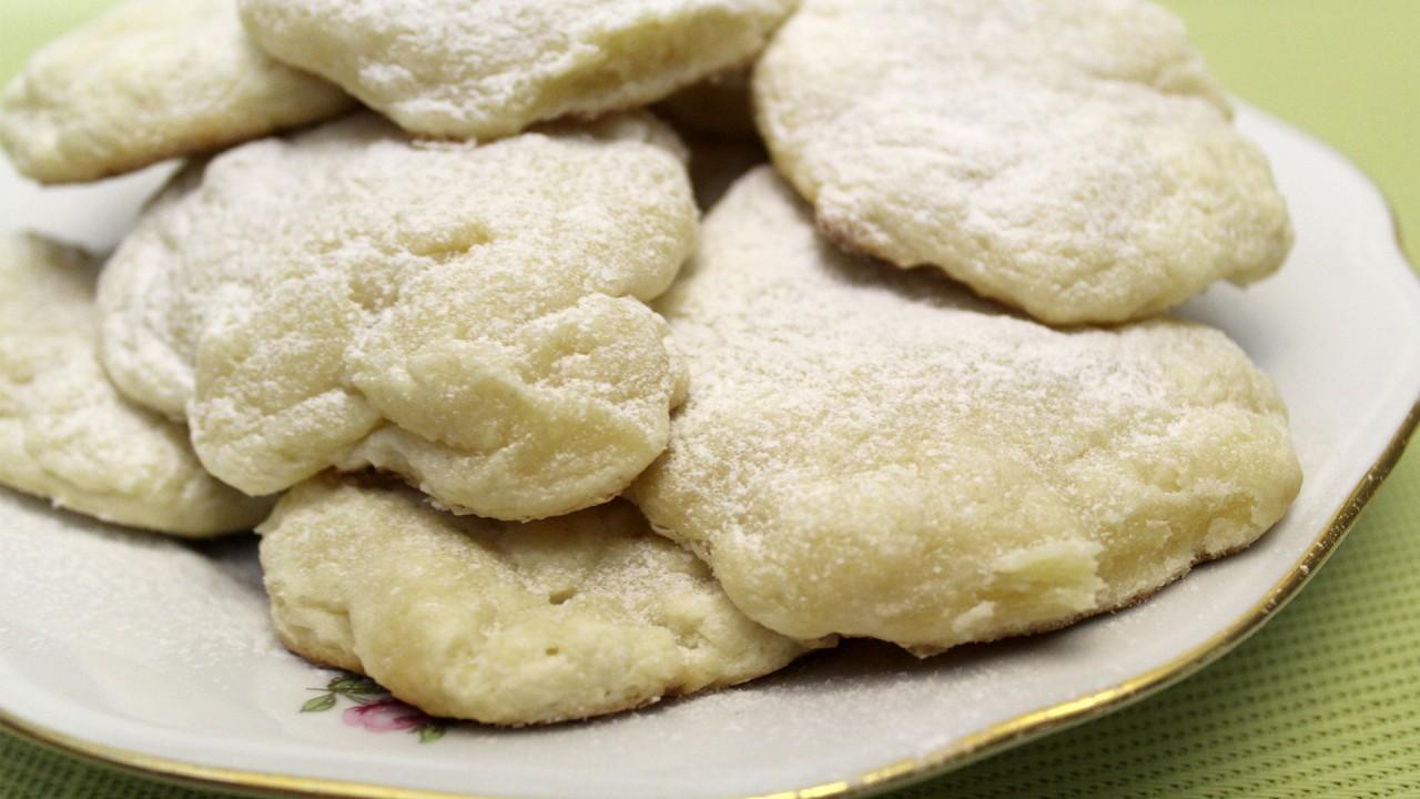 Нежное печенье со сливочным сыром